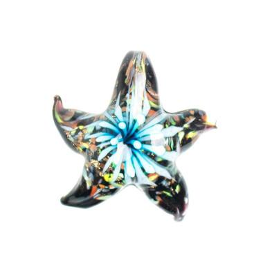 Glass Starfish Pendant - Reef