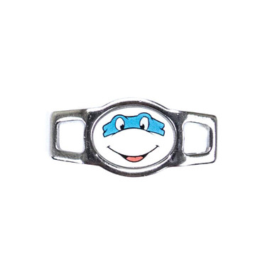 Random Oval Charm - Ninja Turtle (Blue)