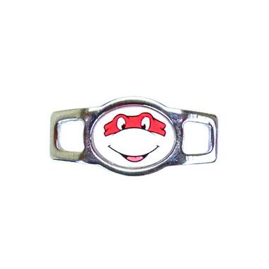 Random Oval Charm - Ninja Turtle (Red)