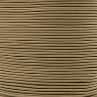 2.5mm Shock Cord - Coyote Brown