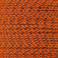 Neon Orange Camo 550 Paracord
