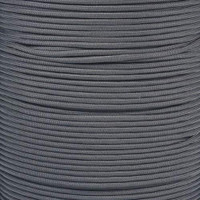 Charcoal Gray 550  7-Strand Commercial Grade Paracord