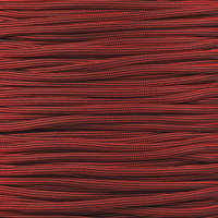 Licorice 550  7-Strand Commercial Grade Paracord