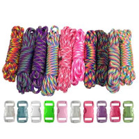 Paracord & Buckles Combo Kit - Tie Dye