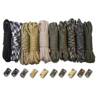 Paracord & Buckles Combo Kit - Survival