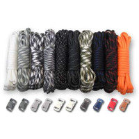 Paracord & Buckles Combo Kit - Tactical