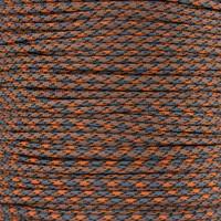 Orange & Gray Camo 550 Paracord