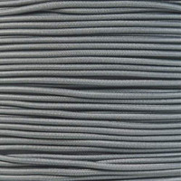 """Charcoal Gray Bungee Shock Stretch Cord 1/8"""" Diameter"""