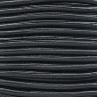 "Black Bungee Shock Stretch Cord 1/4"" Diameter"