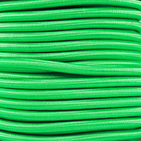 "Neon Green Bungee Shock Stretch Cord 1/4"" Diameter"