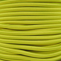 "Neon Yellow Bungee Shock Stretch Cord 1/4"" Diameter"