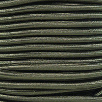 "Olive Drab Bungee Shock Stretch Cord 1/4"" Diameter"