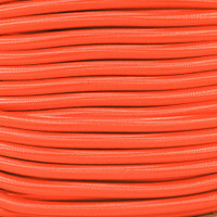 "Neon Orange Bungee Shock Stretch Cord 1/4"" Diameter"