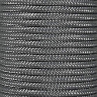 Charcoal Gray 325 3-Strand Commercial Grade Paracord