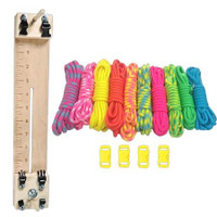 """Paracord Combo Crafting Kit with a 10"""" Pocket Pro Jig - Noble"""
