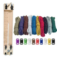 """Paracord Combo Crafting Kit with a 10"""" Pocket Pro Jig - Primary"""