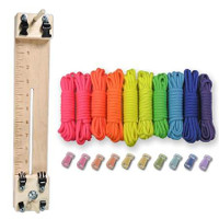 """Paracord Combo Crafting Kit with a 10"""" Pocket Pro Jig - Pop"""