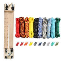"""Paracord Combo Crafting Kit with a 10"""" Pocket Pro Jig - Elements"""