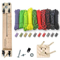 "Paracord Crafting Kit w/ 10"" Pocket Pro Jig & Monkey Form - Zombie"