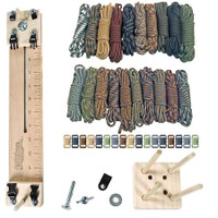 "Paracord Crafting Kit w/ 10"" Pocket Pro Jig & Monkey Form - Scouting"