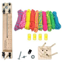 "Paracord Crafting Kit w/ 10"" Pocket Pro Jig & Monkey Form - Noble"