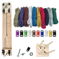 """Paracord Combo Crafting Kit with a 10"""" Pocket Pro Jig -Primary"""