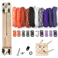 "Paracord Crafting Kit w/ 10"" Pocket Pro Jig & Monkey Form - Witch"