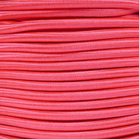 "Neon Pink Bungee Shock Stretch Cord 1/4"" Diameter"