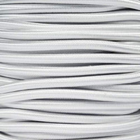 "White Bungee Shock Stretch Cord 1/4"" Diameter"