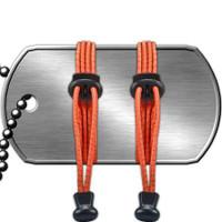 Reflective Neon Orange - Quick Lace Kit