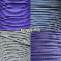 Purple Mix 550 Paracord Bundle