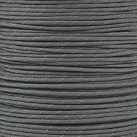 Charcoal Gray 550 Paracord with Reflective Tracers