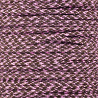 Chocolate Heart 550 Type III 7-Strand Commercial Grade Paracord
