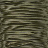"""Camo Green 1/16"""" Elastic Cord"""