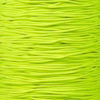 "Neon Yellow 1/16"" Elastic Cord"
