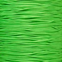 "Neon Green 1/16"" Elastic Cord"