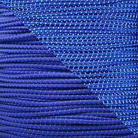 "Electric Blue 1/8"" Shock Cord with Reflective Tracers"