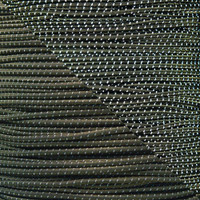 "Olive Drab 1/8"" Shock Cord with Reflective Tracers"