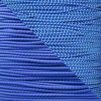 "Royal Blue 1/8"" Shock Cord with Reflective Tracers"