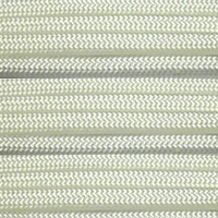 550 Outdoor Cord with Jute Twine & Fishing Line - White