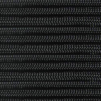 550 Outdoor Cord with Jute Twine & Fishing Line - Black