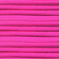 Neon Pink 550 7-Strand Paracord - Spools
