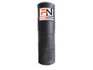 Hex Netting 20 gauge Vinyl Coated Black
