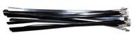 Tie- Stainless Steel Black Coated