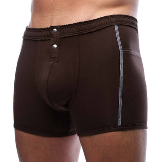 Men's Boxer Brief - Chocolate Brown