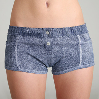 Denim Print Tomboy Boxer Brief
