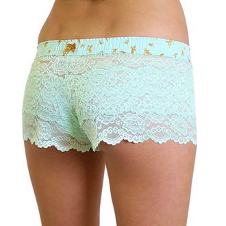 Mint Lace Boxers