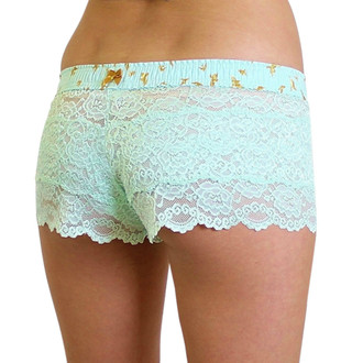 Mint Lace Boxers with Mint Dove FOXERS Band