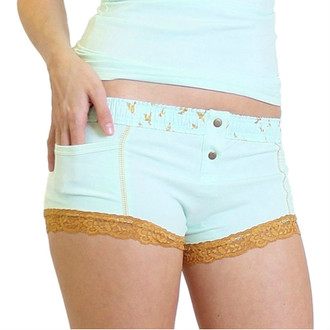 Mint Boxer Brief Mint Dove FOXERS Band