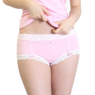 Pink boyleg underwear